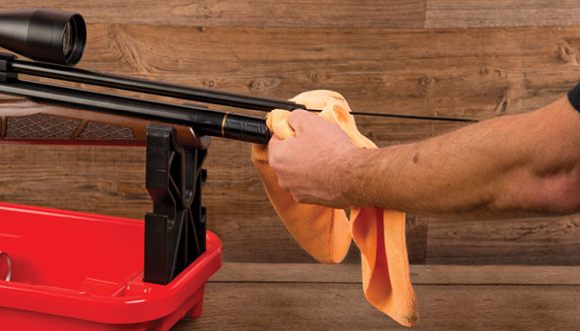 How to clean a PCP Air Rifle Barrel