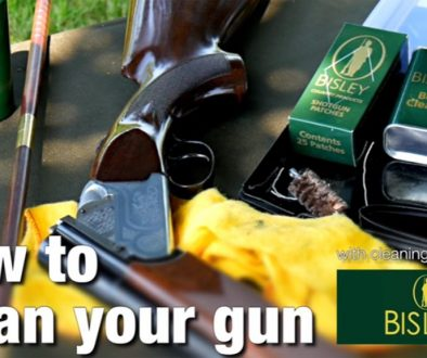 How to clean a shotgun using the Bisley Presentation Cleaning Kit