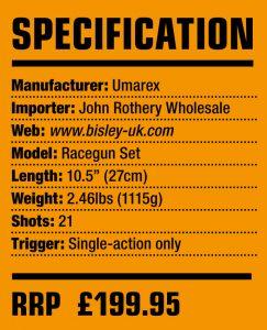 Umarex Race Gun Kit Specification Details
