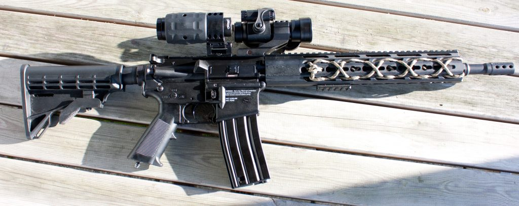 Walther EPS3 Sight Mounted to Airsoft Rifle