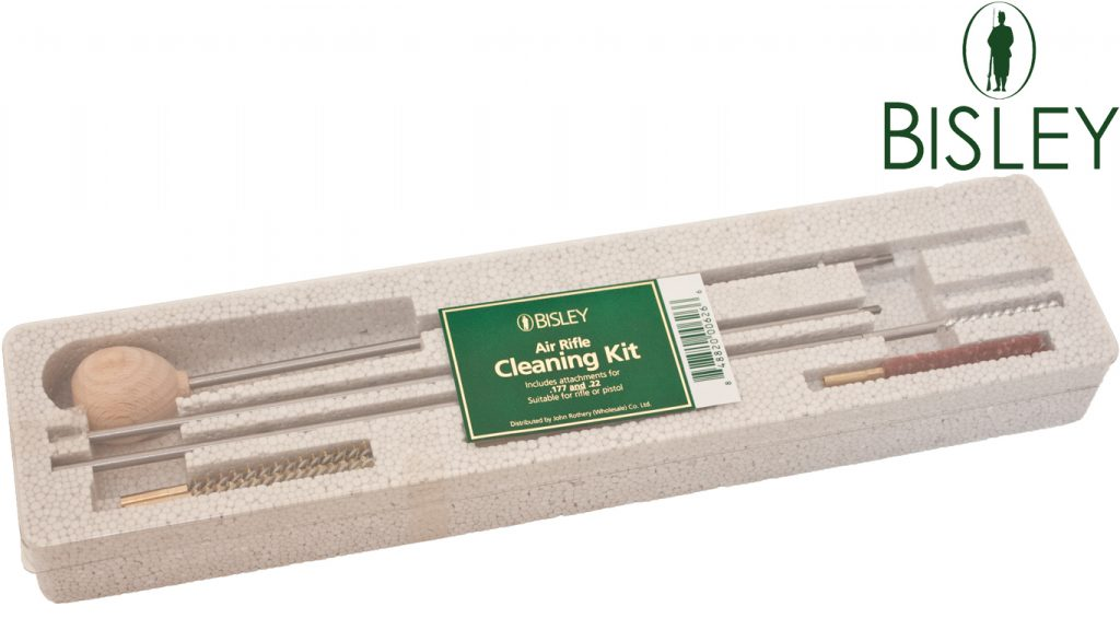 Bisley Airgun Cleaning Kit for .177 and .22