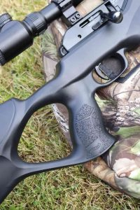 Walther Rotex RM8 Varmint UC Review Pistol Grip