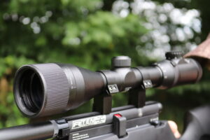 Walther Scope mounted on an airgun