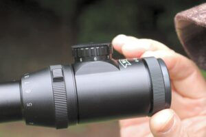Sharpen the focus on Walther scope