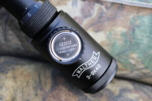 Placement of the CR2032 battery in the Walther Scope